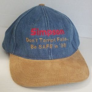 Other - Vintage 98 Simpson CONSTRUCTION SAFETY HAT